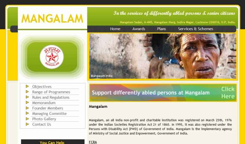 Mangalam India (NGO)  Ngo Templates