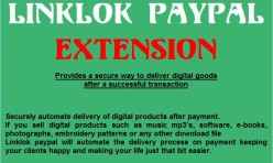 Linklok Paypal extension for WB