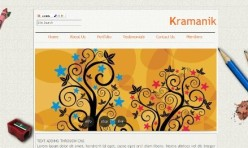 KRAMANIK - (CMS) Template for Webbuilder