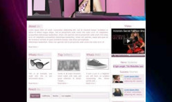 FASHION4U - Template for Webbuilder