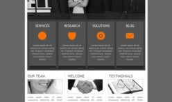 MOU - Business/Corporate Template for Webbuilder
