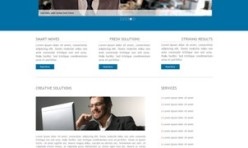 WORKING GROUP - Business/Corporate Template for Webbuilder