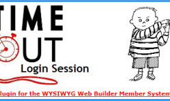 Time-Out Login Session Extension for WB 7&8