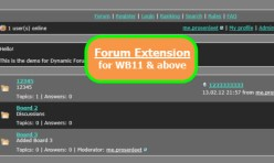 Forum Extension for WB7&8