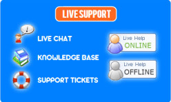 LIVE SUPPORT- Live Chat/Support Tickets/Knowledgebase Extension for WB 7/8