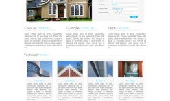 HOUSE WARMING - Template for Webbuilder