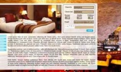 HOTEL RED ROCK - Template for Web Builder
