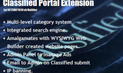 Classified Directory Portal Extension for Web Builder