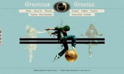 GRACIOUS GRACIEE-Retro Template for Webbuilder 9