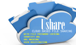 Ushare File Sharing extension for Webbuilder