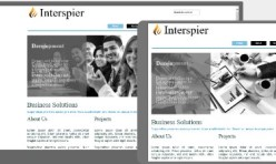 INTERSPIER Template for Webbuilder 10x