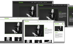 Zuzutsu Responsive Template for Webbuilder11 - 12x