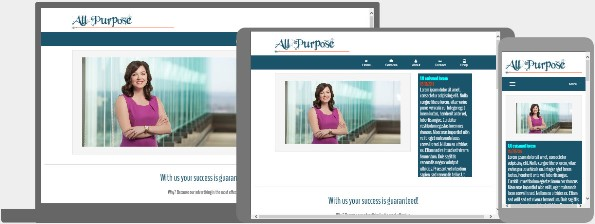 All Purpose Responsive Template For Web Builder Lucknowwebs