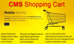 CMS Shopping Cart Extension For Webbuilder 11x & above