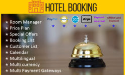 Hotel Booking Extension for Webbuilder