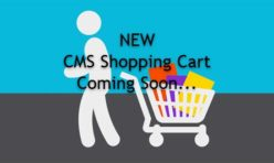 New CMS Shopping Cart Extension LAUNCHED NOW!!