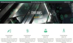 DREAMS Responsive Template for WB12x